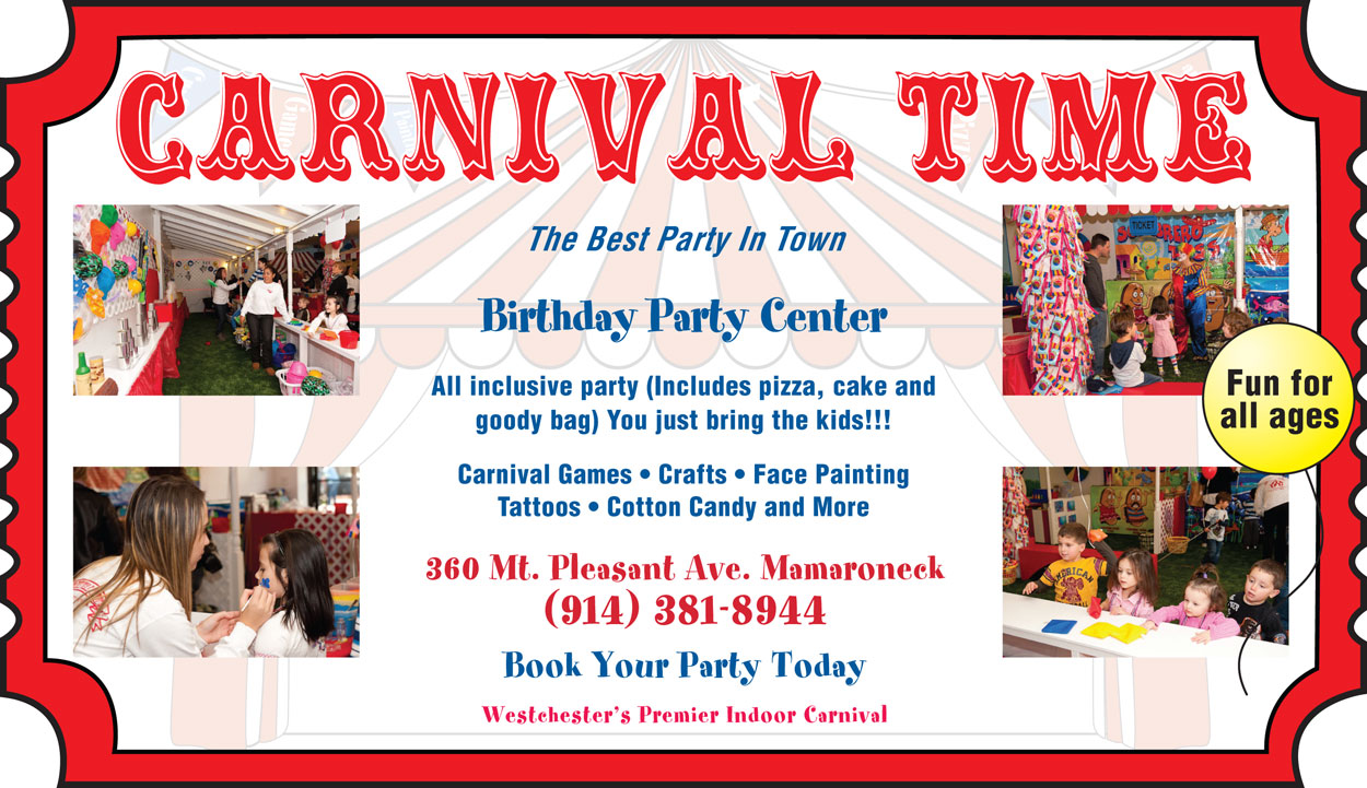 Carnival Time A Winning Ticket For Birthday Parties